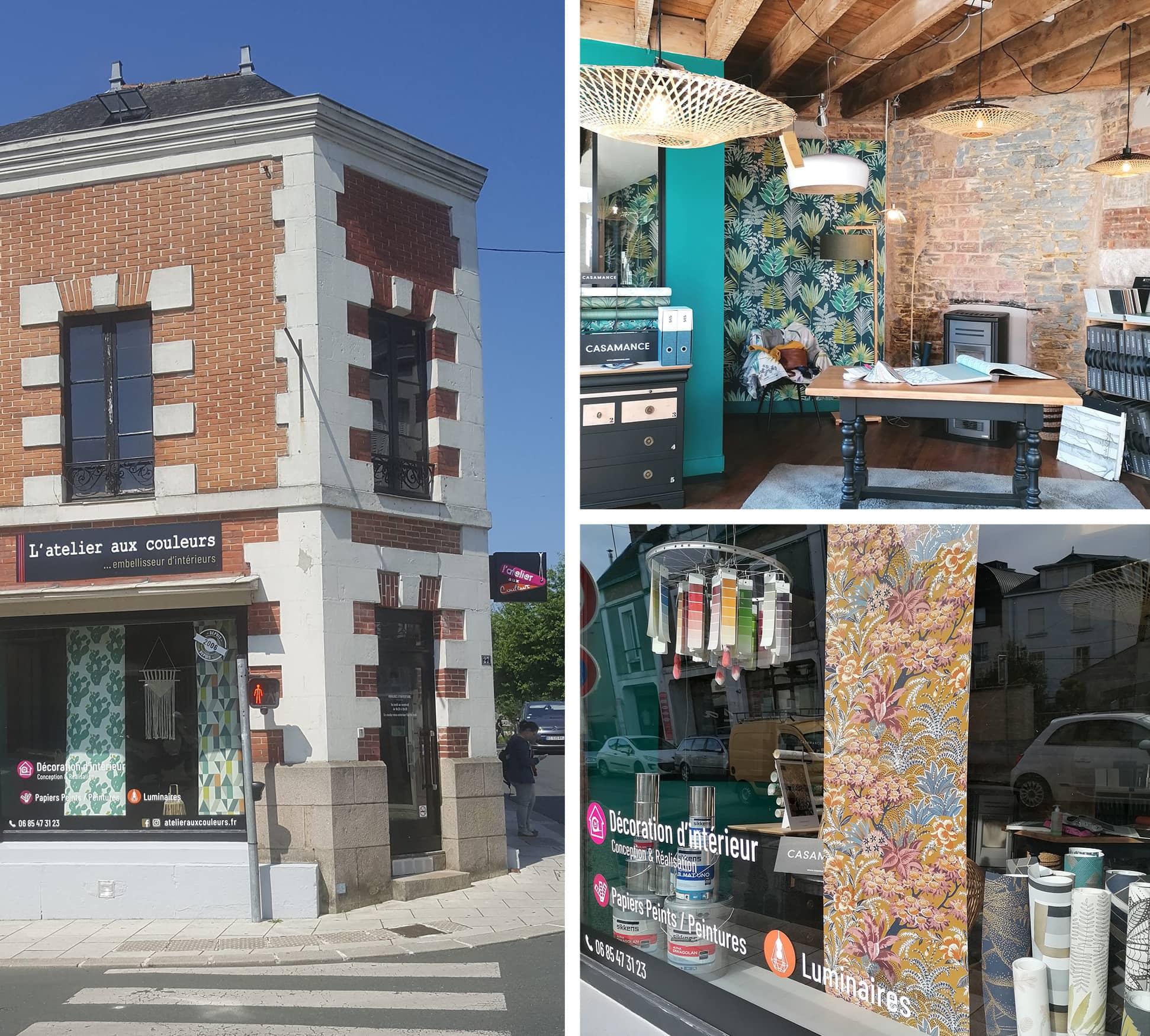 Le magasin L'Atelier aux Couleurs à Châteaubriant