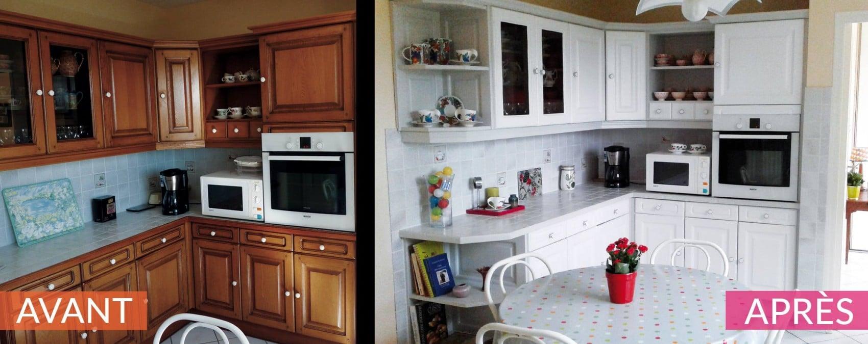 Relooking de cuisine du printemps atelier aux couleurs atelier aux coul - Relooking de cuisine ...