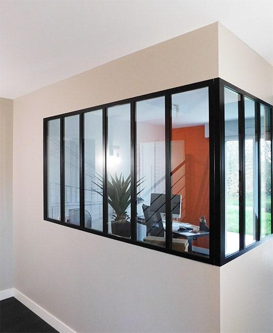 bureau orange décoratrice intérieur nantes