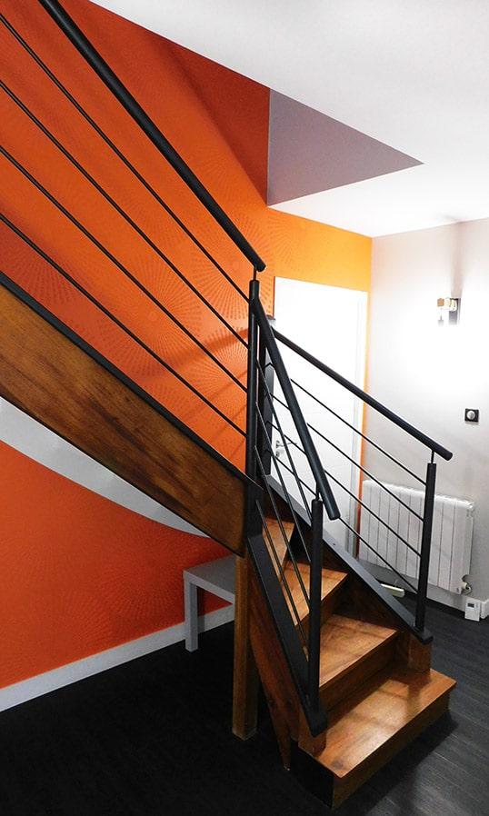 Décoration intérieure : bureau et cage d\'escalier - L\'Atelier aux ...